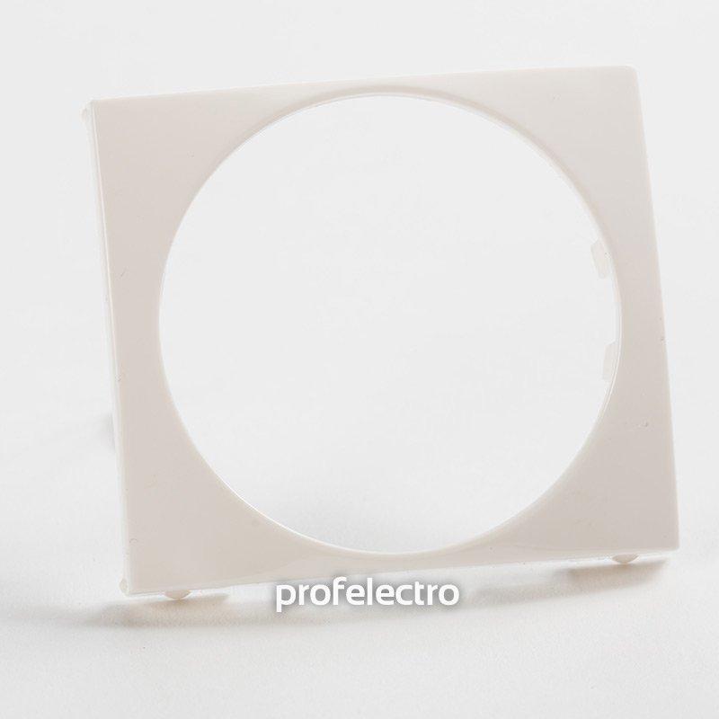 Фото Универсальная лицевая панель 46,5 мм белая Valena