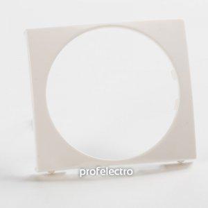 Универсальная лицевая панель 46,5 мм белая Valena