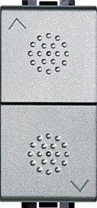 Механизм управления приводами с блокировкой двухклавишный 10 А, 250 В~, 1 модуль