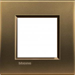 Фото Рамки металлические цвет бронза немецкий и итальянский стандарт