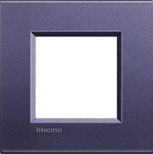 Фото Рамки металлические цвет синий шелк немецкий и итальянский стандарт