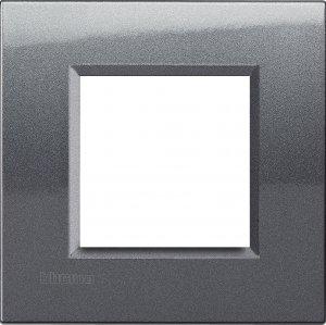 Фото Рамки металлические цвет сталь немецкий и итальянский стандарт