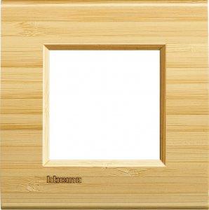 Фото Рамки деревянные цвет бамбук немецкий и итальянский стандарт