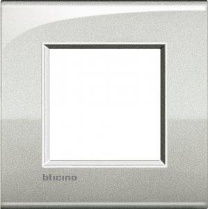 Фото Рамки металлические цвет лунное серебро немецкий стандарт