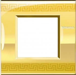 Фото Рамки металлические декорированные принтом орнамент немецкий стандарт