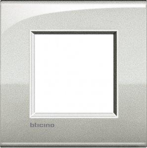 Рамки металлические цвет лунное серебро итальянский стандарт