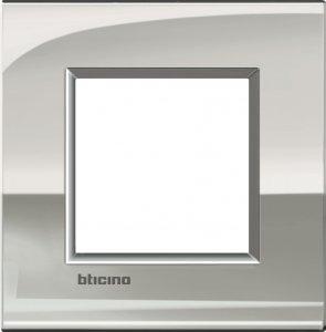 Фото Рамки металлические цвет палладий итальянский стандарт