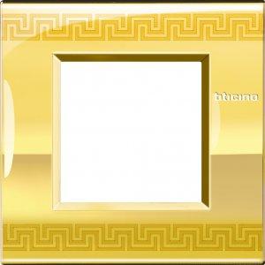 Фото Рамки металлические декорированные принтом орнамент итальянскийстандарт