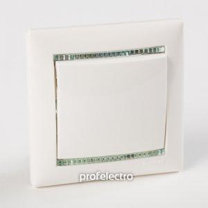 Рамки цвет белый-кристалл 1—5 постов Valena