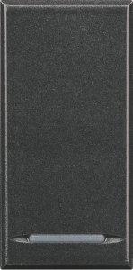 Фото Выключатель одноклавишный однотактный (кнопка) 1NO, 1 модуль, 10 А, 250 В~, винтовые клеммы
