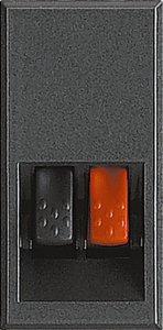 Розетка акустическая 1 модуль