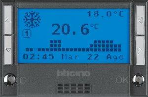 Фото Терморегулятор электронный программируемый для систем «Теплый пол», 2 модуля