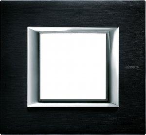Фото Рамки металлические цвет антрацит немецкий и итальянский стандарт