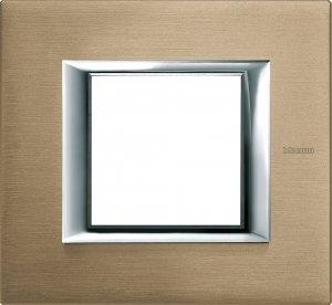 Фото Рамки металлические цвет титан немецкий и итальянский стандарт