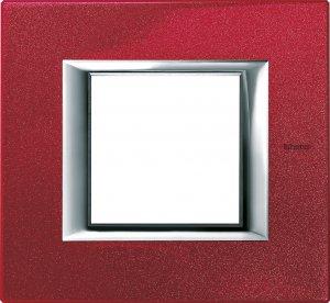 Рамки металлические лакированные цвет рубин немецкий и итальянский стандарт