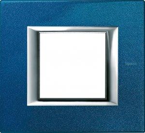 Фото Рамки металлические лакированные цвет сапфир немецкий и итальянский стандарт