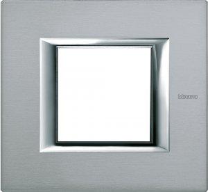 Фото Рамки металлические анодированные цвет темное серебро немецкий и итальянский стандарт