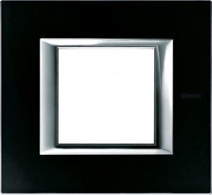 Рамки черное стекло немецкий и итальянский стандарт