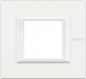 Фото Рамки металлические цвет Axolute белый немецкий и итальянский стандарт