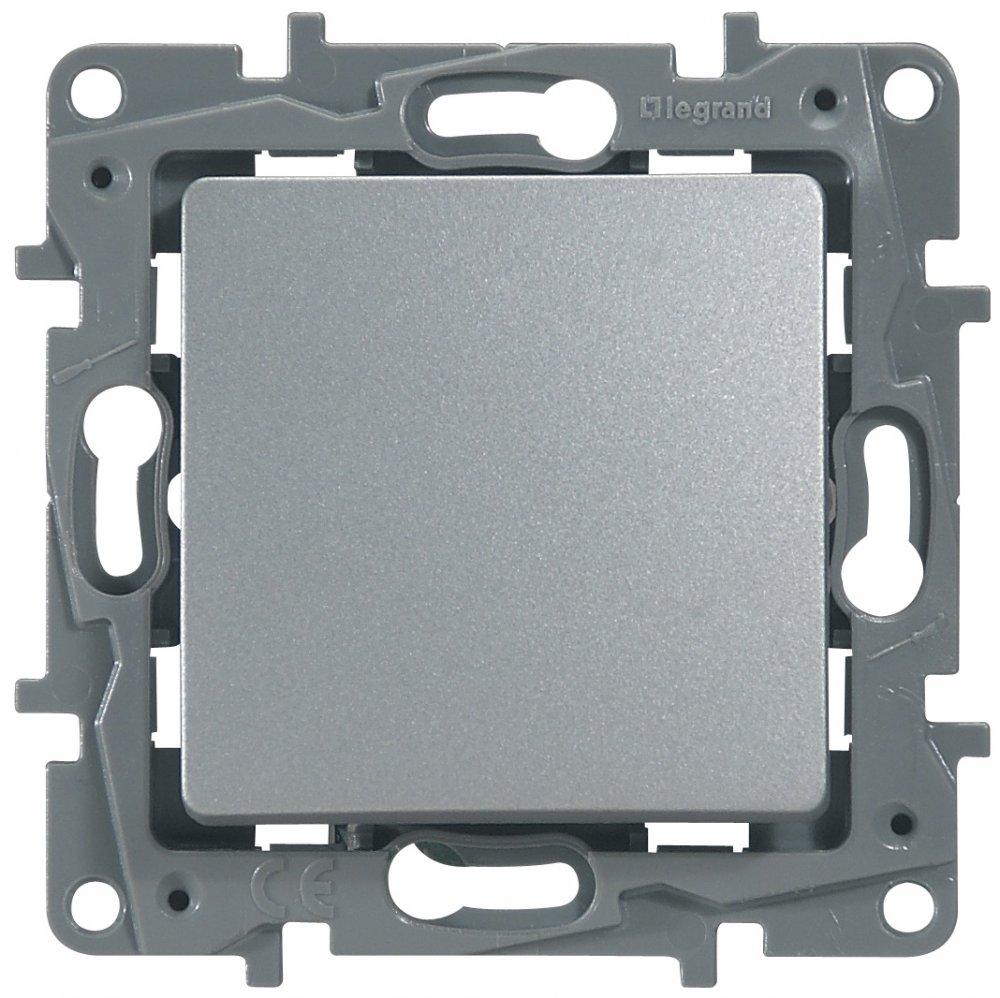 Фото Выключатель одноклавишный проходной (универсальный) 10 А, 250 В~, винтовые клеммы Etika