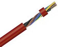 Термостойкий гибкий кабель в силиконовой изоляции SIHF-J