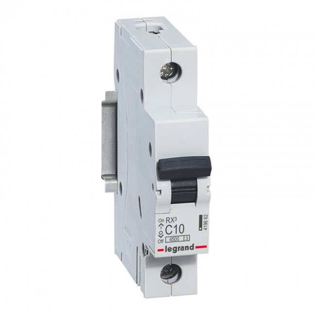Автоматические выключатели однополюсные 4,5кА Legrand RX3 тип С