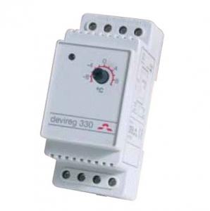 Фото Терморегулятор электронный на шину DIN Devireg™ 330