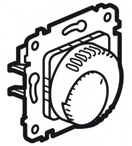 Терморегулятор Legrand Galea Life для систем «Теплый пол» 16 А, 250 В~