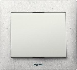 Рамки каменные Legrand Galea Life, цвет CORIAN® Everest 1—5 постов