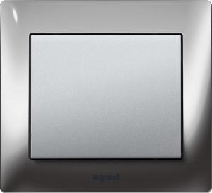 Рамки металлические Legrand Galea Life, хромированные (Chrome) 1—3 поста