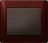 Рамки деревянные Legrand Galea Life, цвет красное дерево (Mahogany) 1—5 постов