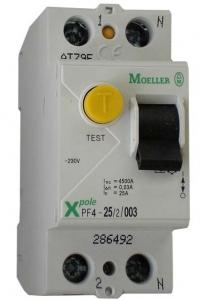 Устройства защитного отключения двухполюсные Eaton (Moeller) PF6