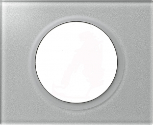 Рамки стеклянные цвет смальта металлик 1—5 постов