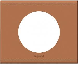 Рамки обтянутые натуральной кожей цвет крем-карамель 1—5 постов